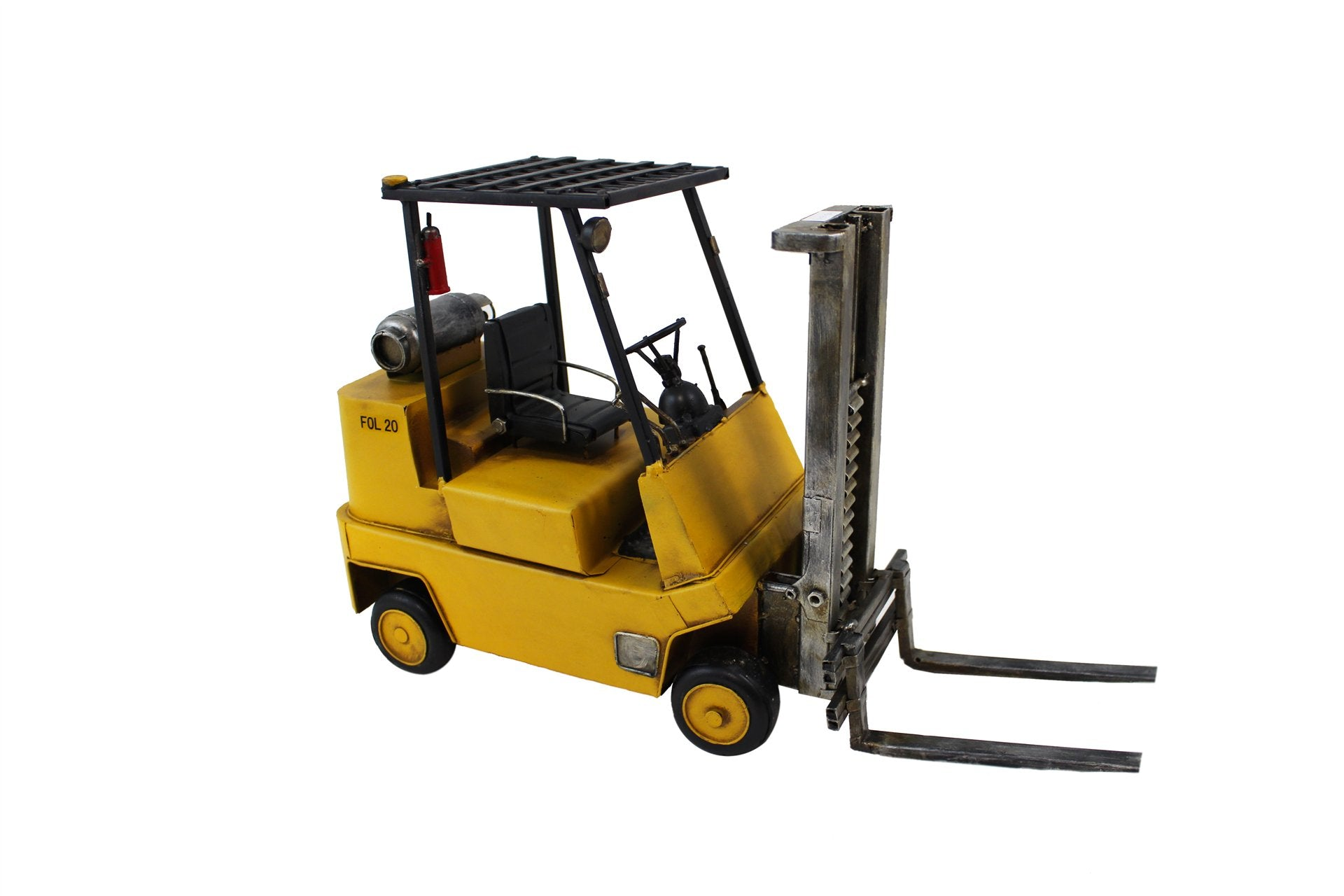 MINIATURE YELLOW FORKLIFT