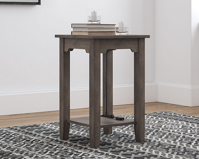 Arlenbry Chairside End Table (T275-7-I) (T275-7)