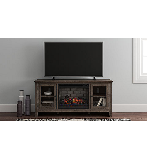 "Arlenbry 60"" TV Stand with Electric Fireplace (W275W3-I) (W275W3)"