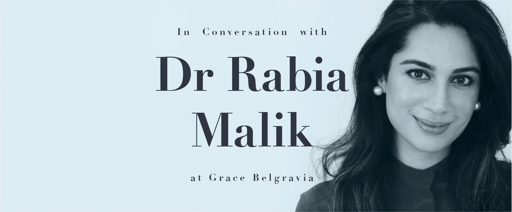In conversation with Dr Rabia Malik at Grace Belgravia