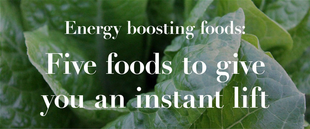 Energy Boosting foods: Five foods to give you an instant lift