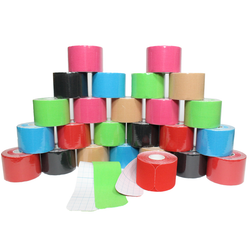 24 Pack Kinesiology Tape (Pre-Cut Rolls)
