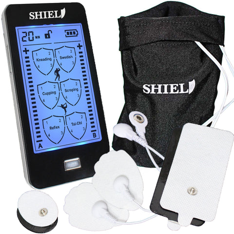 Image of Shield TENS-EMS Electronic Massager, Touch Screen