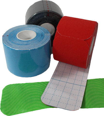 Image of 24 Pack Kinesiology Tape (Pre-Cut Rolls)