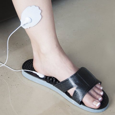 TENS Unit Electronic Massager Electrode Sandals