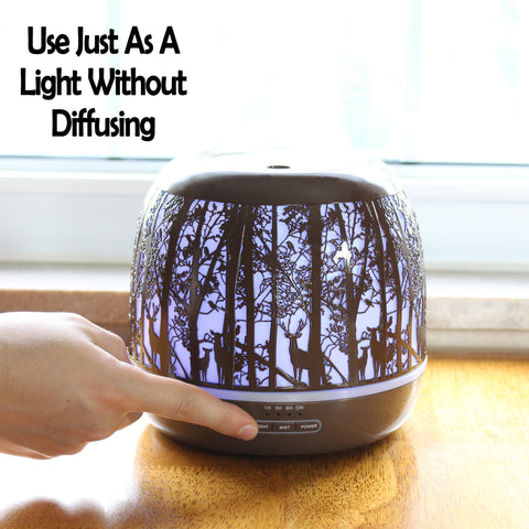 Image of Ultrasonic Essential Oil Diffuser
