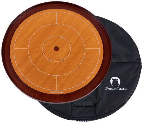 Image of The Lady, BrownCastle Crokinole Board *2 Week Backorder*
