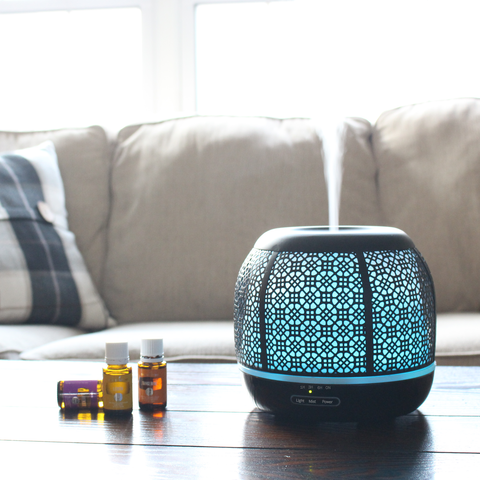 Image of Ultrasonic Diffuser Humidifier