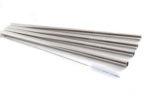 Image of Stainless Steel Straws Pack