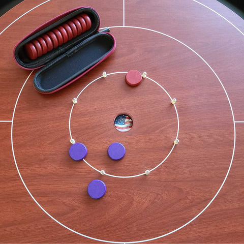 The Dragon, BrownCastle Crokinole Board