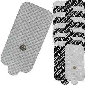 Large Square Rectangle Electrode Pads