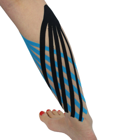 Image of 3 Pack Kinesiology Tape - Pre-Cut Rolls