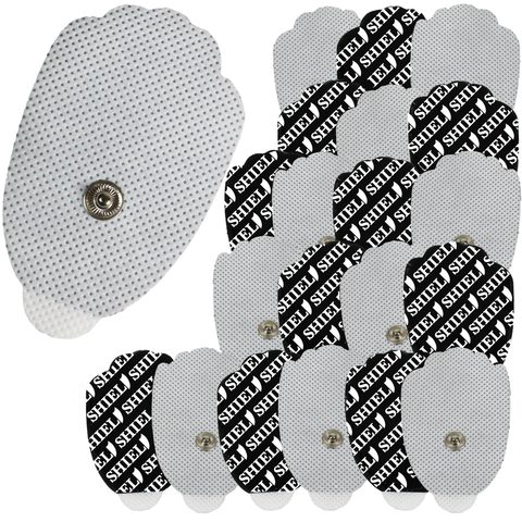 snap electrode pads for tens