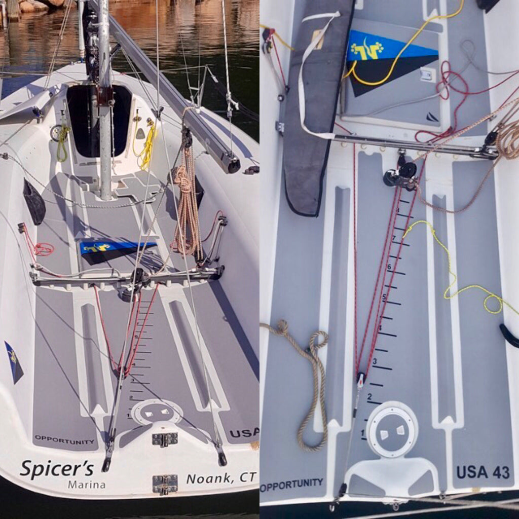 Custom SeaDek for Youth Sailing Team