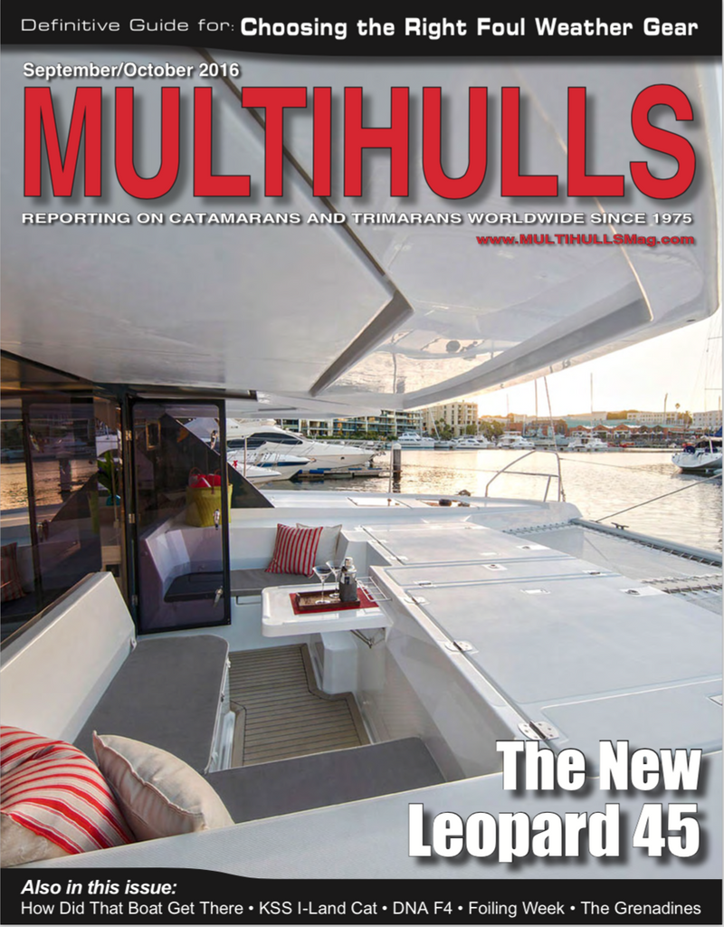 Performance SailTools Featured in Multihulls Magazine