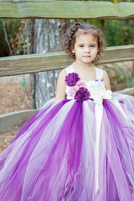 Plum Tutu, Plum Tutu Dress, Plum Flower Girl Dress, Purple Photography Prop Dress