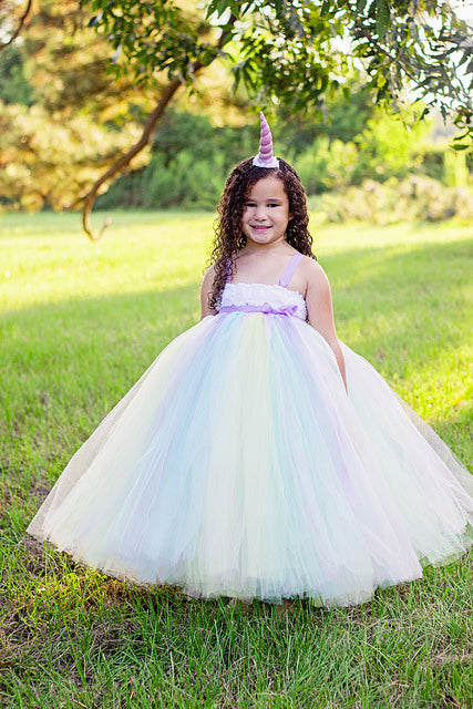 Unicorn Tutu, Unicorn Birthday Dress, Girls Unicorn Costume, Unicorn Photography Prop Dress