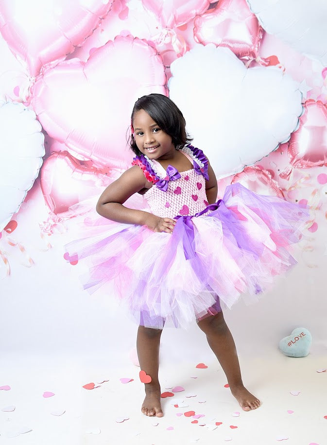 Valentines Day Tutu, Heart Tutu, Love Tutu, Valentine's Day Photo Session Tutu Dress