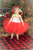 Grinch Tutu, Girls Grinch Costume, Christmas Grinch Dress, Grinch Girls Tutu Dress - Little Ladybug Tutus