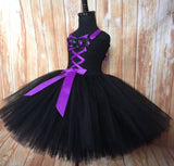 Witch Tutu, Girls Witch Dress, Witch Costume for Girls, Witch Tulle Dress - Little Ladybug Tutus