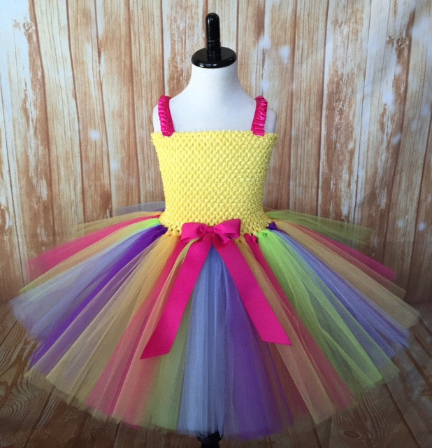 Rainbow Tutu, Rainbow Tutu Dress, Rainbow Birthday Party, Rainbow, Unicorn Tutu, Unicorn Tutu Dress, Unicorn Party, Unicorn Birthday, Rainbow Pageant Tutu Dress - Little Ladybug Tutus