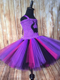 Descendants Tutu, Disney Descendants Costume, Girls Descendants Tutu, Maleficent Tutu, Mal Tutu Dress - Little Ladybug Tutus