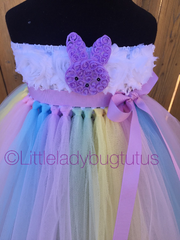 Easter Tutu, Easter Girls Tutu Dress, Bunny Tutu, Bunny Tutu Dress - Little Ladybug Tutus