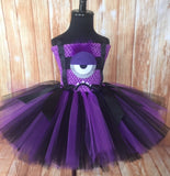 Evil Minion Tutu, Evil Minion Girls Tutu Dress, Minion Tutu, Minion Girls Costume - Little Ladybug Tutus