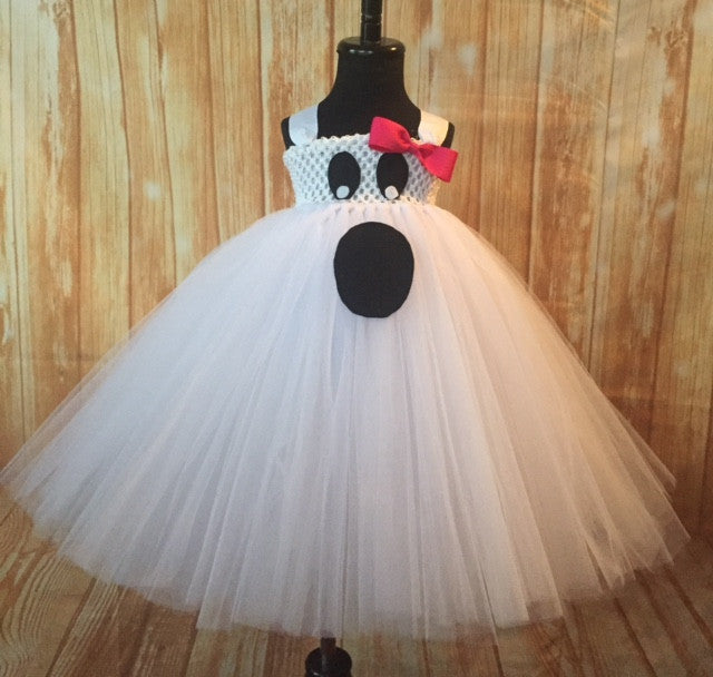 Ghost Tutu, Ghost Girls Tutu Dress, Girls Ghost Costume, Halloween Girls Tutu - Little Ladybug Tutus