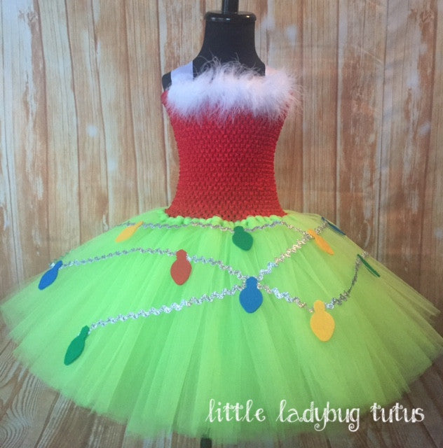 Grinch Tutu Dress - Little Ladybug Tutus
