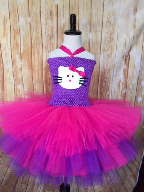 Hello Kitty Tutu, Hello Kitty Girls Tutu Dress, Hello Kitty Costume - Little Ladybug Tutus