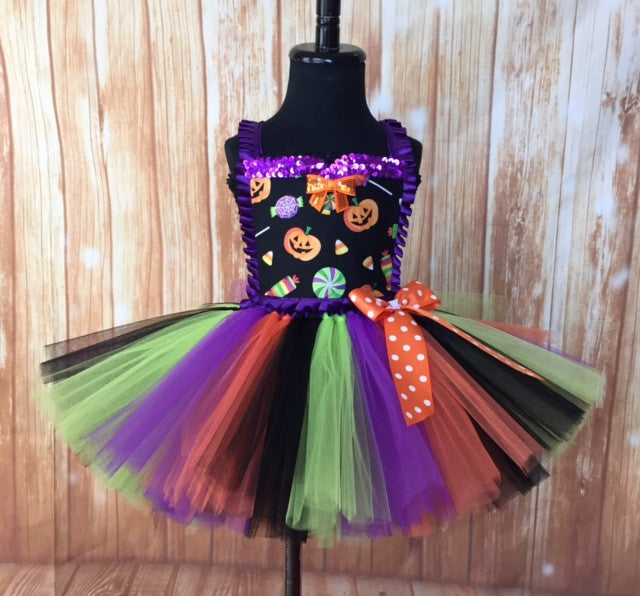 Halloween Tutu, Girls Halloween Tutu Dress, Halloween Tutu Costume