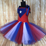 Puerto Rico Tutu, Puerto Rican Flag Tutu, Puerto Rican Pageant Dress, PR Parade Dress - Little Ladybug Tutus