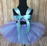 Smash Cake Tutu, 1st Birthday Tutu, First Birthday Tutu, Smash Cake Tutu Set, Baby Tutu, Toddler Tutu, Birthday Tutu, Smash Cake Props, 1st Birthday Photo, Photo Prop, Photo Smash Cake Tutu, Lavender & Aqua Smash Cake Tutu - Little Ladybug Tutus