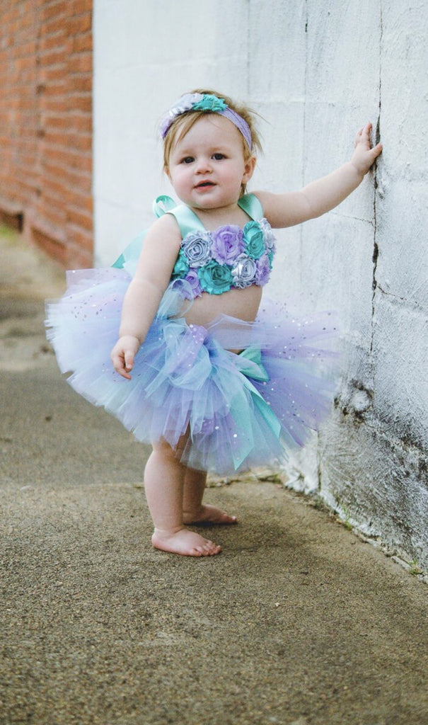 Smash Cake Tutu, 1st Birthday Tutu, First Birthday Tutu, Smash Cake Tutu Set, Baby Tutu, Toddler Tutu, Birthday Tutu, Smash Cake Props, 1st Birthday Photo, Photo Prop, Photo Smash Cake Tutu, Lavender & Aqua Smash Cake Tutu