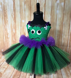 Frankenstein Tutu, Girls Frankenstein Costume, Halloween Frankenstein Girls Tutu Dress - Little Ladybug Tutus