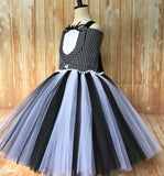 Jack Skellington Tutu, Jack Skellington Girls Tutu Dress, Jack Skellington Tutu Costume - Little Ladybug Tutus