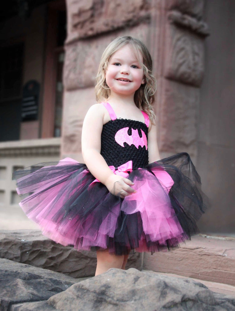Batman Tutu, Batgirl Tutu, Batgirl Girls Tutu, Batman Costume Tutu Dress, Batgirl Costume