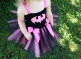 Batman Tutu, Batgirl Tutu, Batgirl Girls Tutu, Batman Costume Tutu Dress, Batgirl Costume - Little Ladybug Tutus