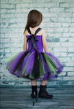 Mal Tutu, Mal Tutu Dress, Descendants Tutu, Mal Costume, Descendants Costume - Little Ladybug Tutus