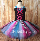 Monster High Tutu, Monster High Dress, Girls Monster High Costume - Little Ladybug Tutus