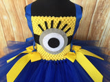 Minion Tutu, Minion Tutu Dress, Minion Costume, Girls Minion Tutu - Little Ladybug Tutus