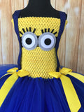 Minion Tutu, Minion Tutu Dress, Minion Costume, Girls Minion Dress - Little Ladybug Tutus