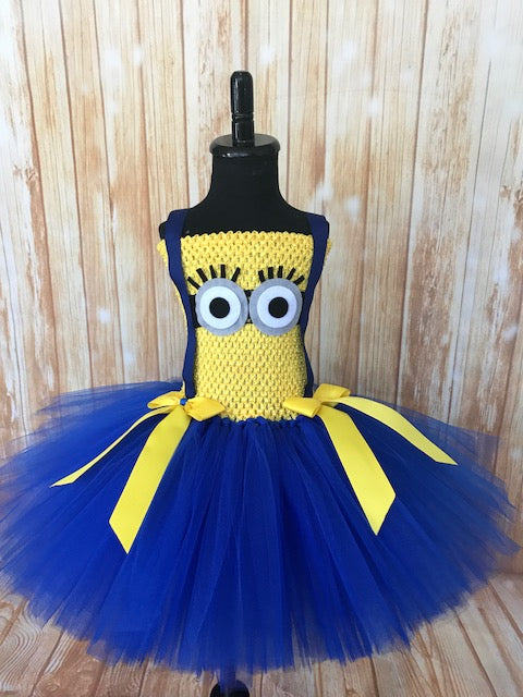 Minion Tutu, Minion Tutu Dress, Minion Costume, Girls Minion Dress