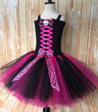 Monster High Tutu, Girls Monster High Party Dress - Little Ladybug Tutus