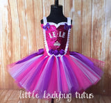 Personalized Birthday Tutu, Tutu Dress with Name - Little Ladybug Tutus