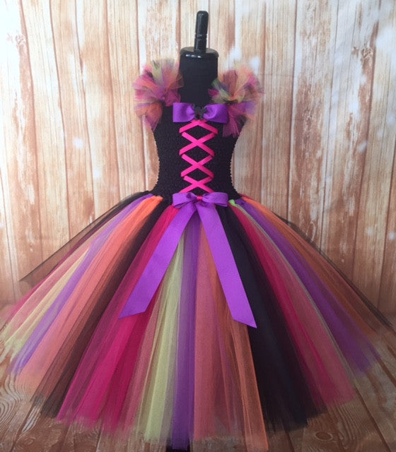 Witch Tutu, Girls Witch Dress, Witch Costume for Girls, Witch Tulle Dress
