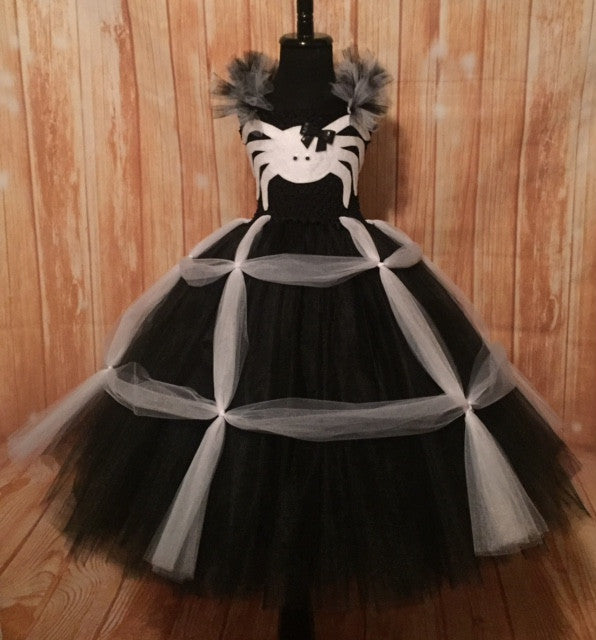 Spider Tutu, Girls Spider Costume, Halloween Spider Outfit, Spider Photography Dress Prop
