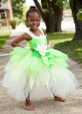 Tiana Tutu, Princess and the Frog Dress, Girls Tiana Costume - Little Ladybug Tutus
