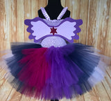 Twilight Sparkle Tutu, My Little Pony Costume, Twilight Sparkle Girls Dress - Little Ladybug Tutus